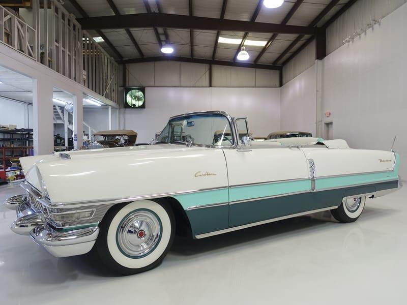 Restored classic 1955 Packard Caribbean Convertible for sale Daniel Schmitt & Co.