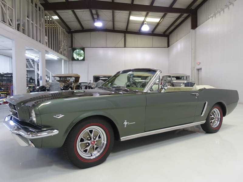 Restored Classic 1965 Ford Mustang Convertible Luxury Pony Interior