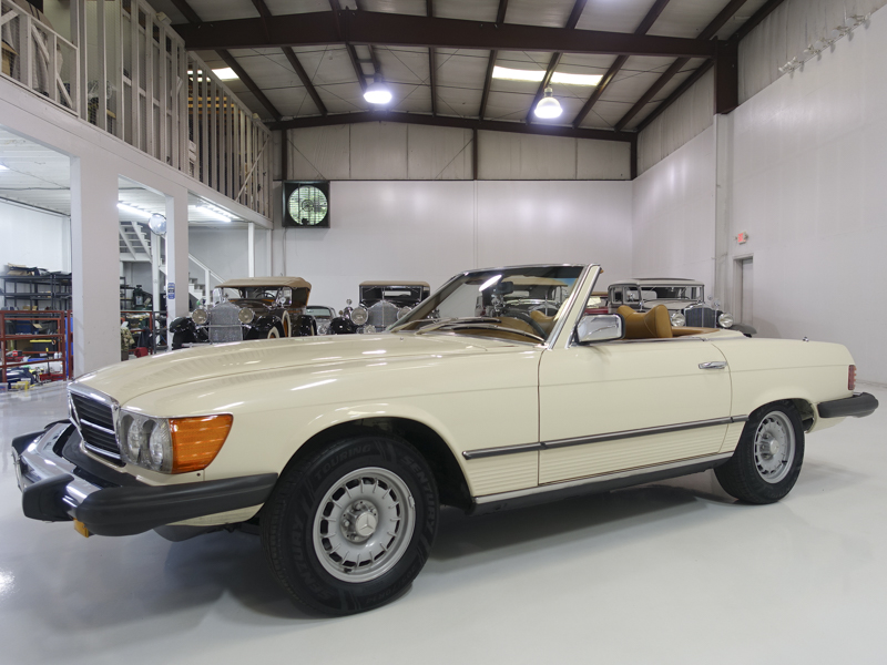 Low mile, classic 1979 Mercedes-Benz 450SL Roadster for sale at Daniel Schmitt & Co.
