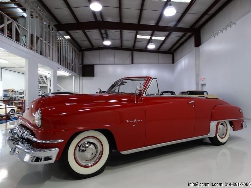 Restored Classic 1952 DeSoto Firedome Convertible