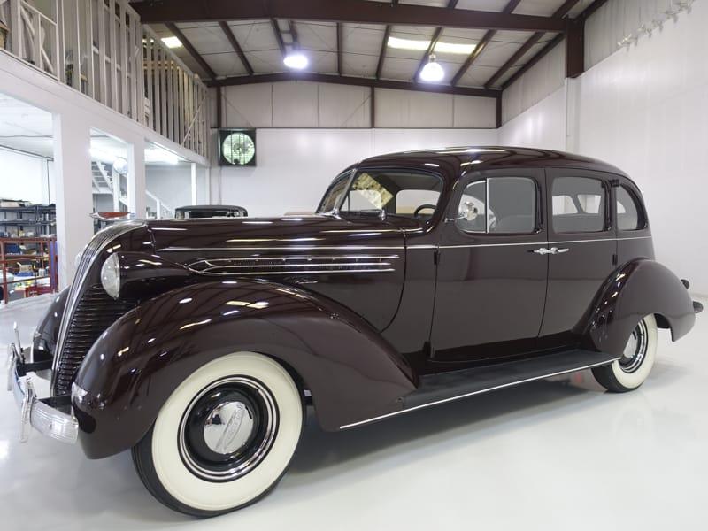 1937 Hudson Custom Six Touring Sedan
