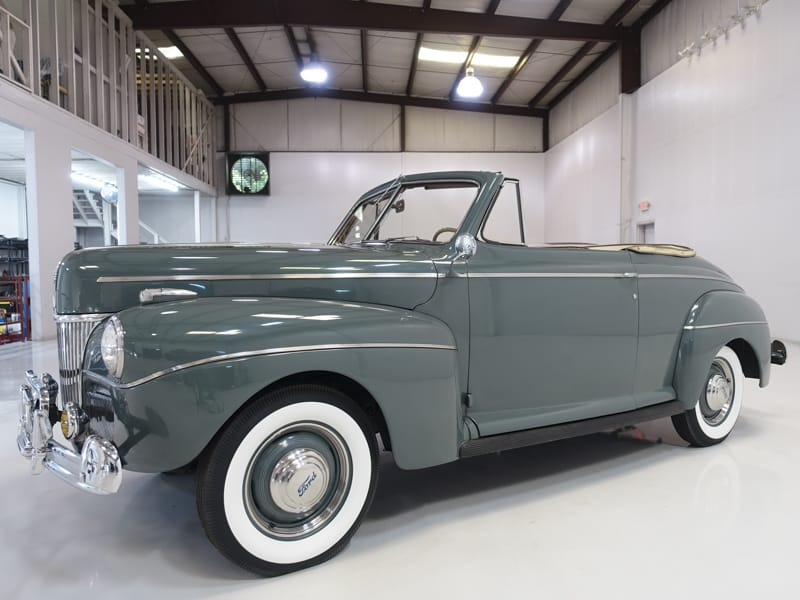 Old 1941 Ford Super Deluxe Club Convertible for sale