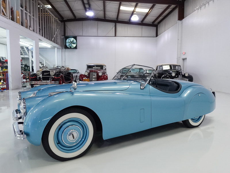 Restored numbers matching1952 Jaguar XK120 Rosdster