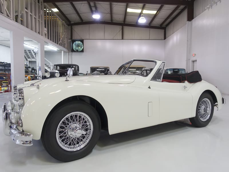 Restored 1957 Jaguar XK140 MC Drophead Coupe