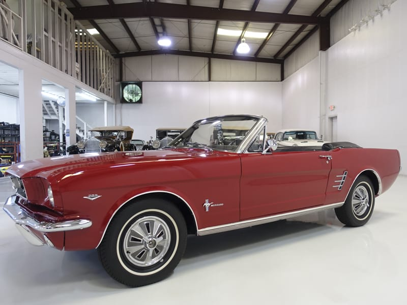 1966 Ford Mustang Convertible for Sale at Daniel Schmitt & Co