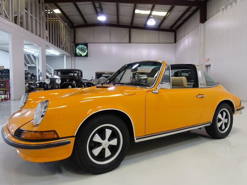Restored 1973 Porsche 911E 2.4 Targa Frank Darabont director Shawkshank Redemption The Green Mile
