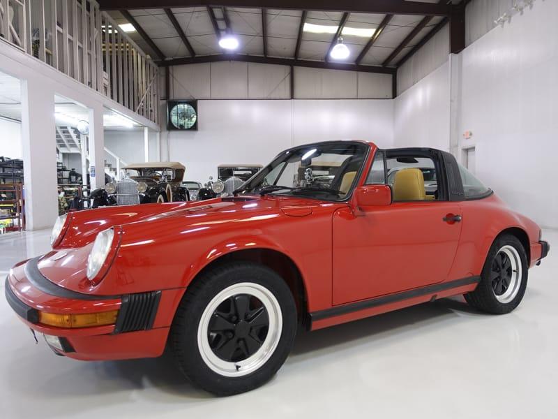 air-cooled 1988 Porsche 911 3.2 Targa for sale at Daniel Schmitt and Company in Saint Louis, Missouri