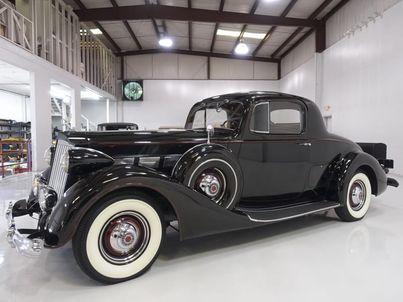 1937 Packard Model 1501 Super Eight Coupe