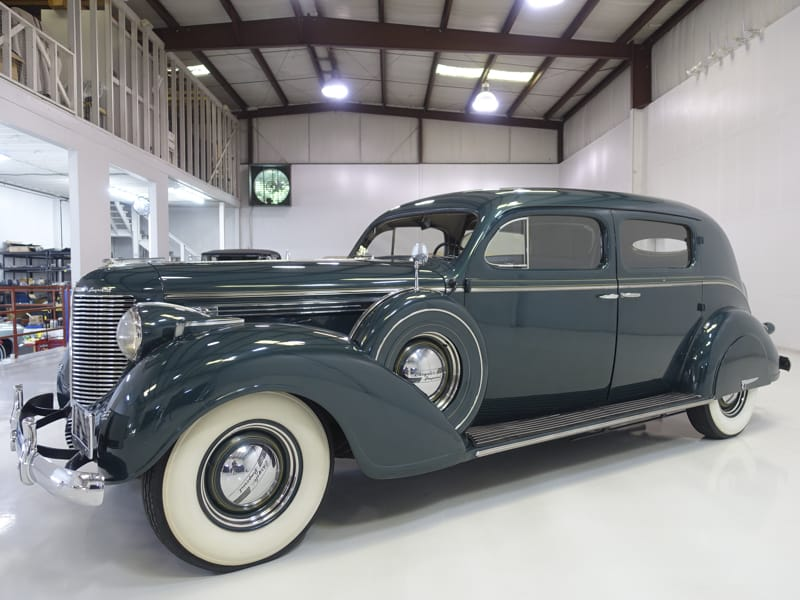 1938 Chrysler Custom Imperial Town Limousine by LeBaron