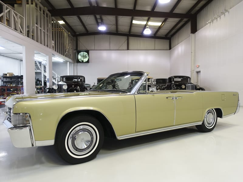 1965 Lincoln Continental Convertible for sale at Daniel Schmitt & Co. in Saint Louis, Missouri
