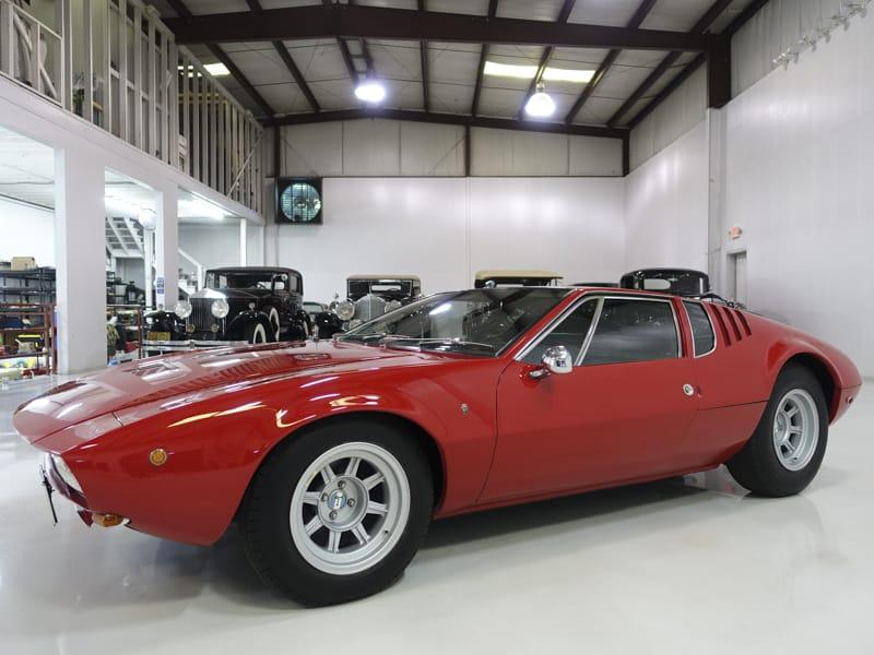 1970 De Tomaso Mangusta for Sale at Daniel Schmitt & Co.