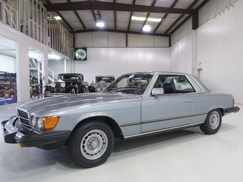 1980 MB 450SLC Sunroof Coupe for sale at Daniel Schmitt & Co.