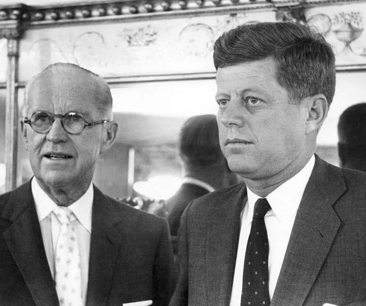 Joseph P Kennedy John F Kennedy