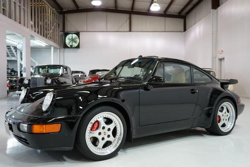 1994 Porsche 911 3.6 Turbo Sunroof Coupe