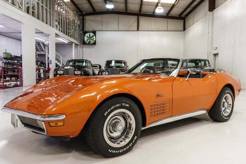 1971 Chevrolet Corvette Stingray 454 Convertible for sale at Daniel Schmitt & Co.