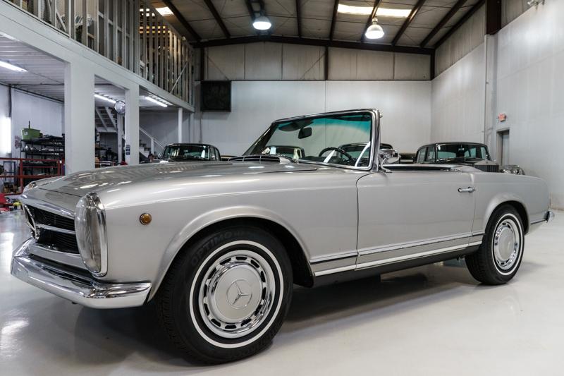 """1967 Mercedes-Benz 250 SL """"Pagoda"""" Roadster for sale Daniel Schmitt & Co."""