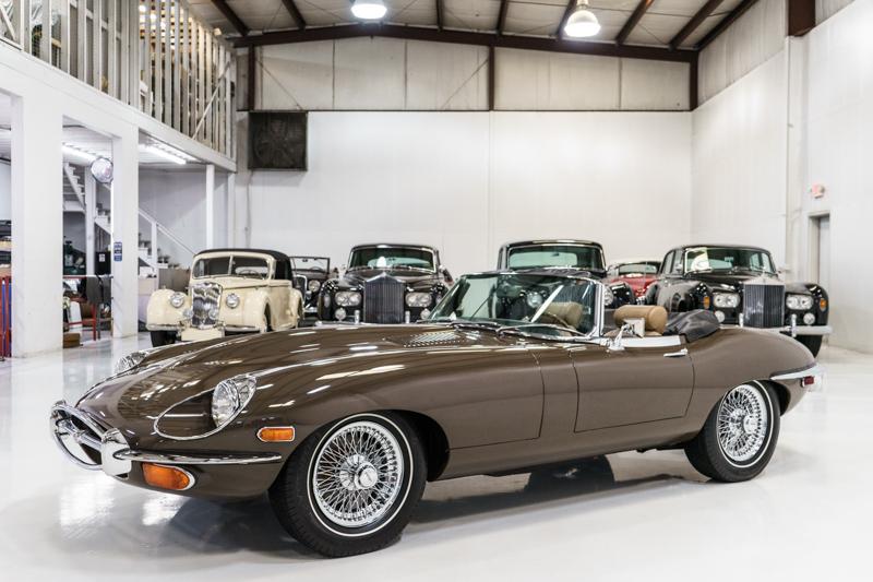 1970 Jaguar E-Type Series II Roadster
