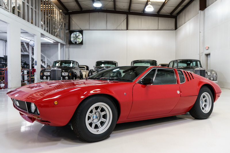 1969 DeTomaso Mangusta for sale Daniel Schmitt & Co.