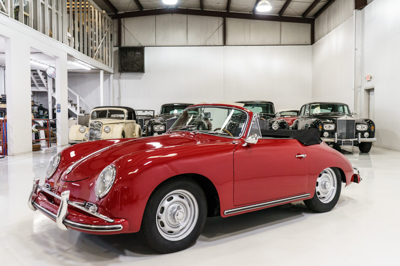 1958 Porsche 356A 1600 Super Cabriolet by Reutter