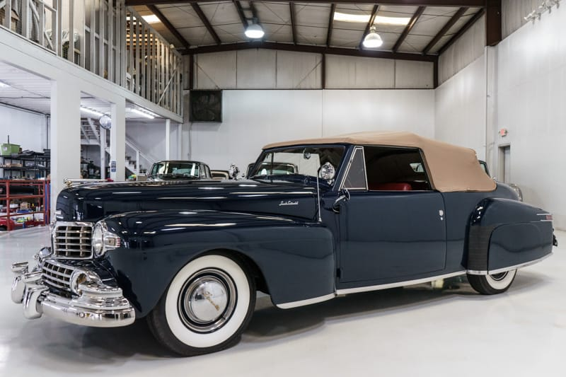 1947 Lincoln Continental Convertible at Daniel Schmitt & Co.