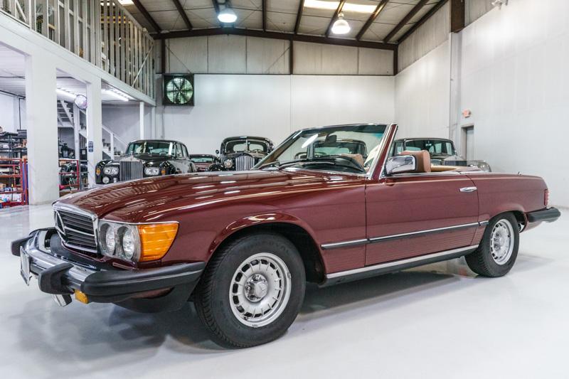 1980 Mercedes-Benz 450 SL Convertible for sale Daniel Schmitt & Co.