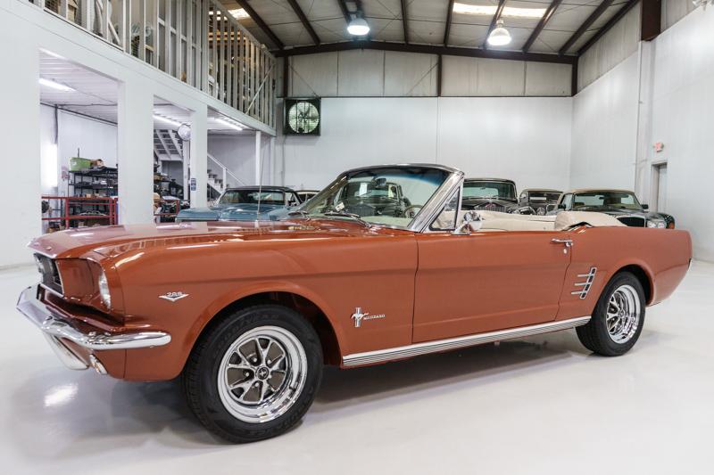 1966 Ford Mustang Convertible for sale Daniel Schmitt & Co.
