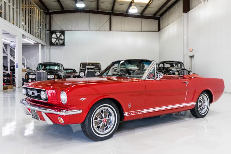 1966 Ford Mustang GT Convertible for sale Daniel Schmitt & Co.