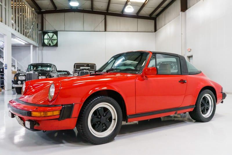 1982 Porsche 911 SC 3.0 Targa for sale Daniel Schmitt & Co.