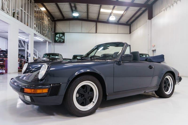 1988 Porsche 911 Carrera Cabriolet for sale Daniel Schmitt & Co.