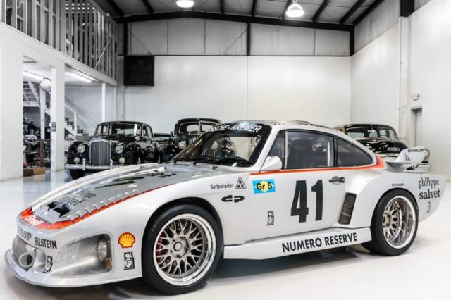 This particular 1976 Porsche 935 Kremer K3 Recreation Racecar has been developed over the past 20 years and is set up to be street legal, with lights, turn signals, horn and more, and is offered with a clean title. The 1976 platform is now fitted with a modern 3.6-liter horizontally opposed six-cylinder engine from a Type 964 series 911 that is coupled to a 914 series five-speed manual transmission.  #porsche #racecar #kremer #racecarsdaily